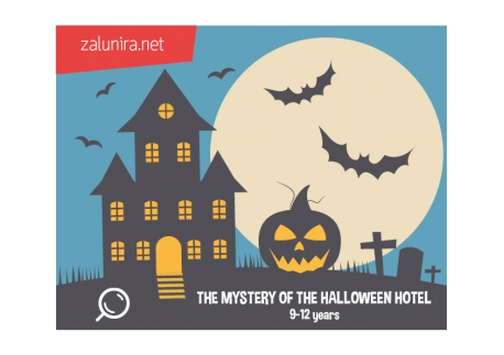 The Mystery of the Halloween Hotel - 9-12 years