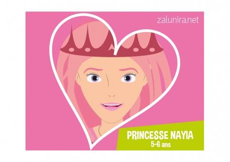Princesse Nayia - 5-6 ans